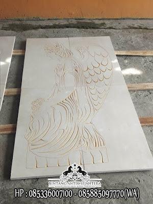 Jasa Pembuatan Prasasti Marmer | Prasasti Marmer Gambar Malaikat