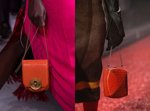 Fall-Winter 2018-2019 Women's Small Stylish Chained Handbags Fashion Trends