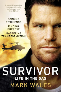 Survivor: Life in the SAS by Mark Wales book cover