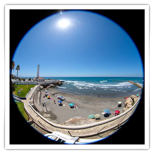 Faro de Torrox y playa