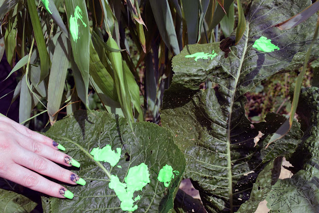 Espionage Cosmetics Hunter nerdy nail wraps Predator Movies