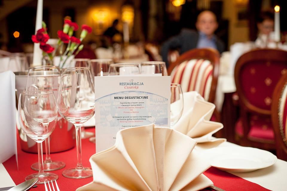 Kuchnia I Wino Czyli Relacja Z Restauracji Cesarska W