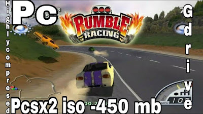 Rumble Racing PS2 ISO Download for Android Emulator PPSSPP