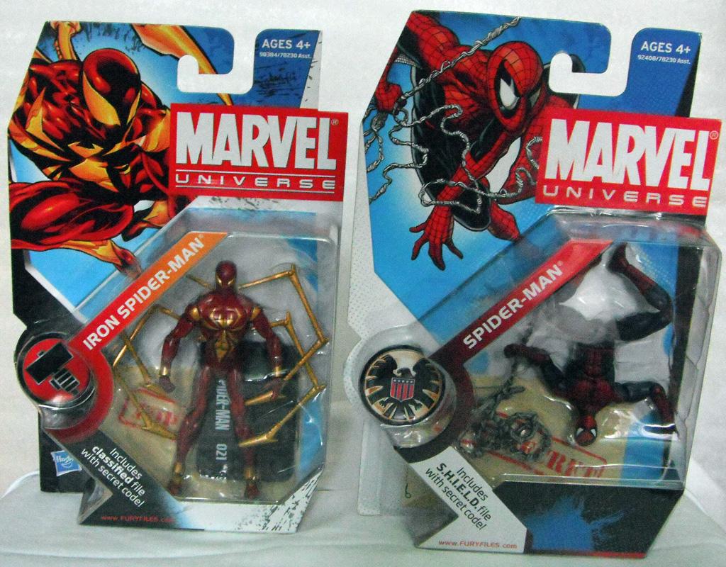Spiderman Vs Iron Patriot