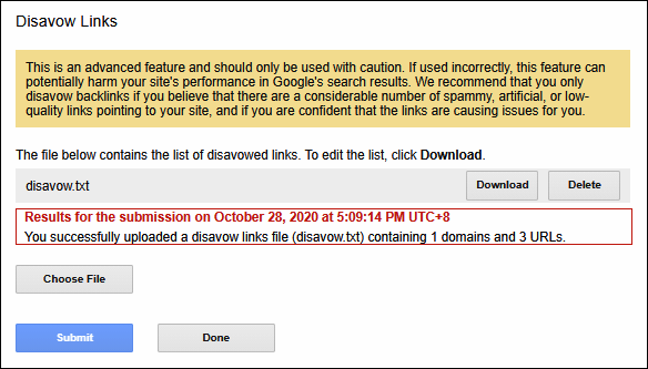 Cara Menolak Backlink Spam dengan Google Disavow Link Tools