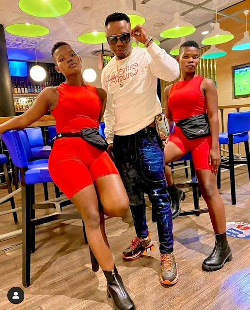 Qwabe twins and DJ Tira