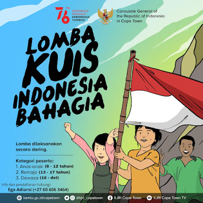 Lomba Kuis Indonesia Bahagia oleh KJRI