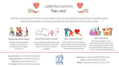 """Nākotnē biedrība """"Laiks Jauniešiem"""" plāno sniegt savu palīdzību visā Latvijā!"""