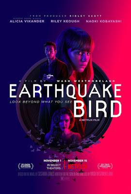 Xem Phim Cánh Chim Nơi Địa Chấn - Earthquake Bird