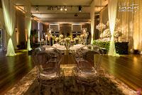 casamento realizado na casa vetro em porto alegre com cerimônia e recepção no local decoração clássica tradicional em tons de verde e branco por life eventos especiais