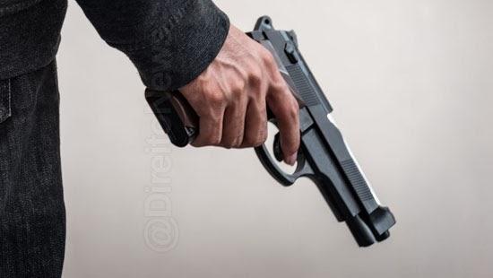 registro arma fogo porte area condominio