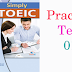 Listening Simply TOEIC Practice Test 01