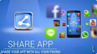 نسخة قديمة من تطبيق share apps بميزات رائعة