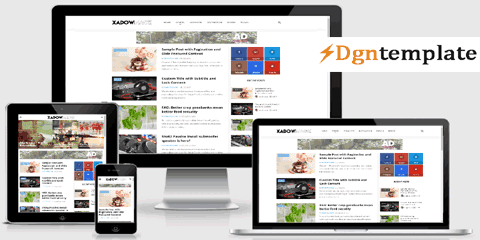 XadowMagz Responsive Blogger Template [free]