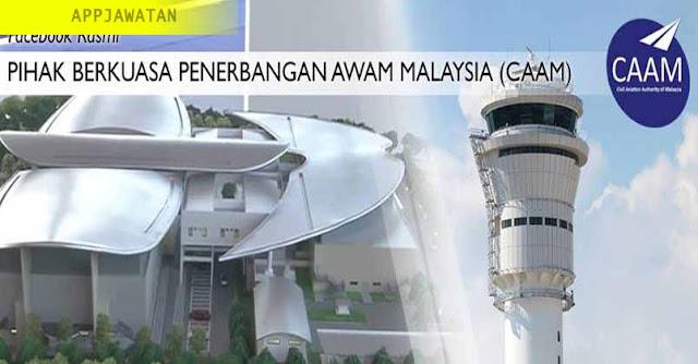 Jawatan Kosong di Pihak Berkuasa Penerbangan Awam Malaysia (CAAM)