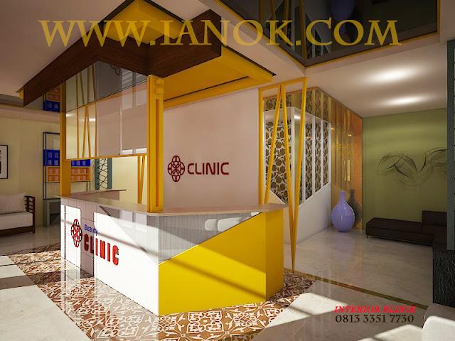 Jas Desain dan aplikator Interior Klinik kecantikan