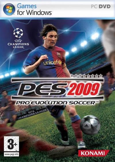 โหลดเกมส์ Pro Evolution Soccer 2009