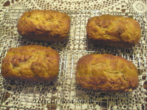 Eclectic Red Barn: Island Mango Bread loaves