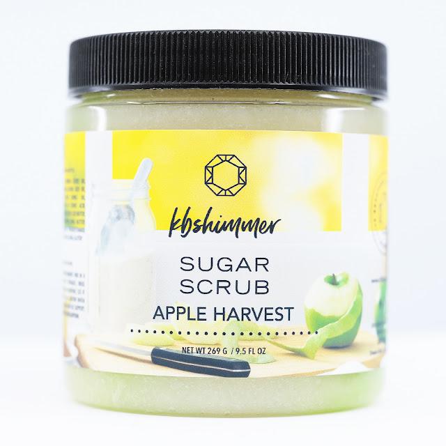 KBShimmer Apple Harvest Hand & Body Sugar Scrub