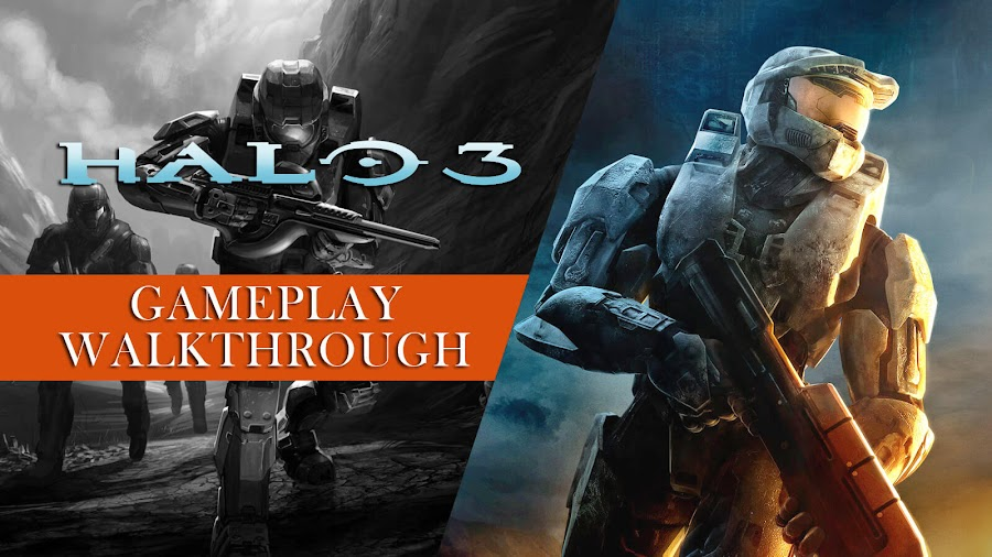 halo 3 legendary difficulty playthrough guitar hero controller master chief youtube first-person shooter bungie microsoft game studios