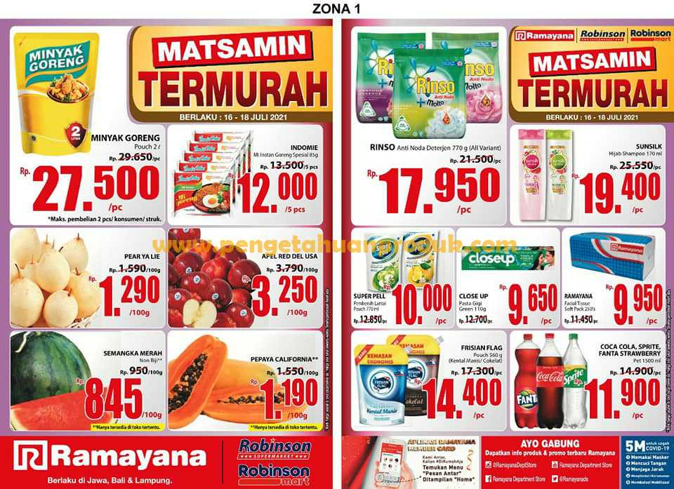 Katalog Spar Promo Terbaru Periode 16 - 18 Juli 2021