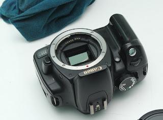 Restorasi Kamera DSLR Keluaran Lama
