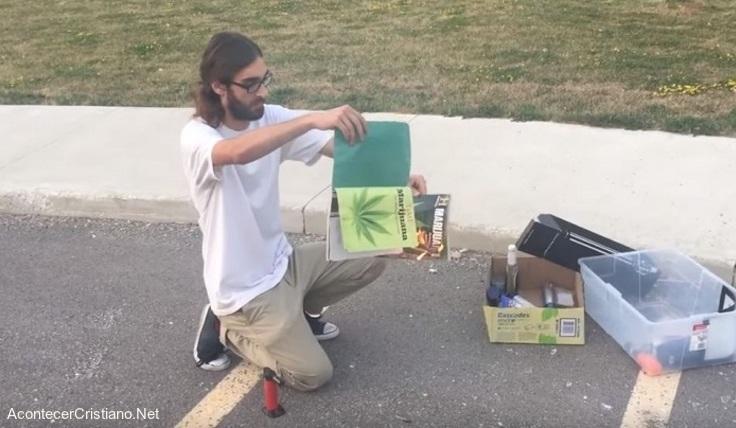 Jóvenes abandonan adicción a las drogas
