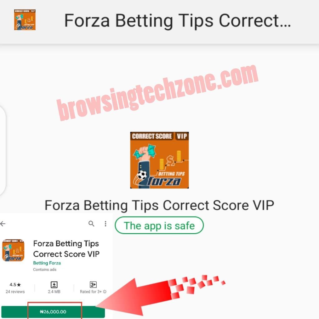 Correct score betting tips apk