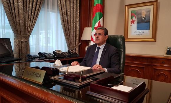 La ruta Transahariana que une Argelia con Lagos, Nigeria, y el gasoducto entre Argelia y Nigeria es un hecho, anuncia el primer ministro Argelino.