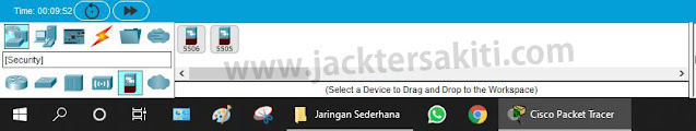 Penjelasan Elemen Network Devices Cisco Packet Tracer