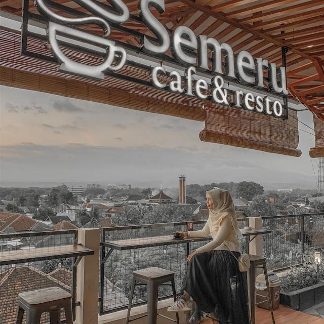 Semeru Cafe and Resto Jember Jawa Timur