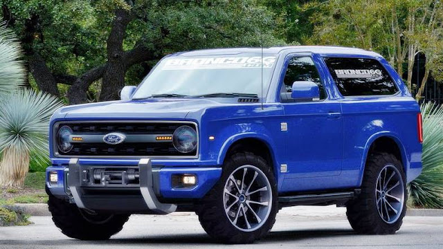 2021 New Ford Bronco