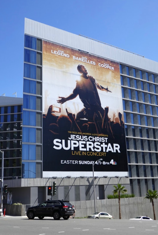 Jesus Christ Superstar Live NBC billboard