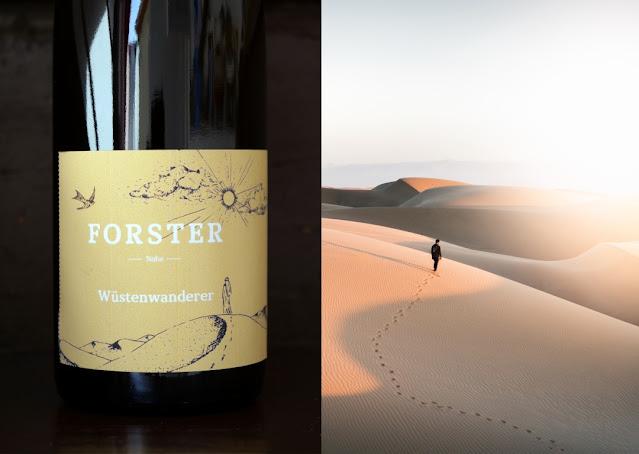 Wüstenwanderer Abenteurerwein aus dem Weingut Forster an der Nahe