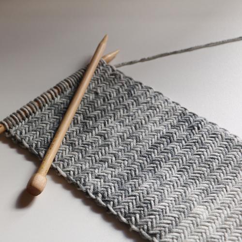 Herringbone Knit Scarf - Free Pattern