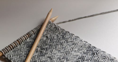 Beautiful Skills - Crochet Knitting Quilting : Herringbone Knit