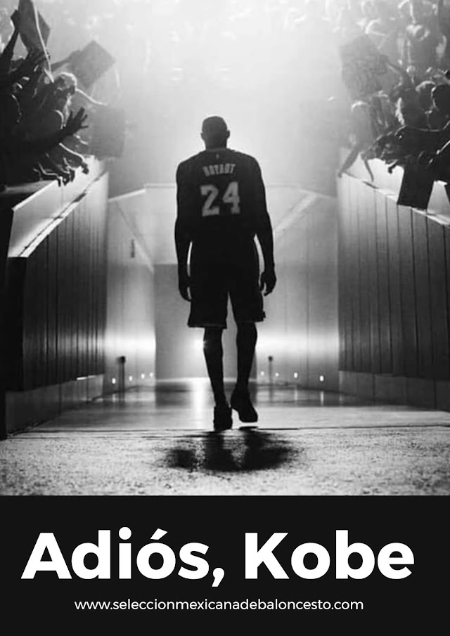 Adiós, Kobe.