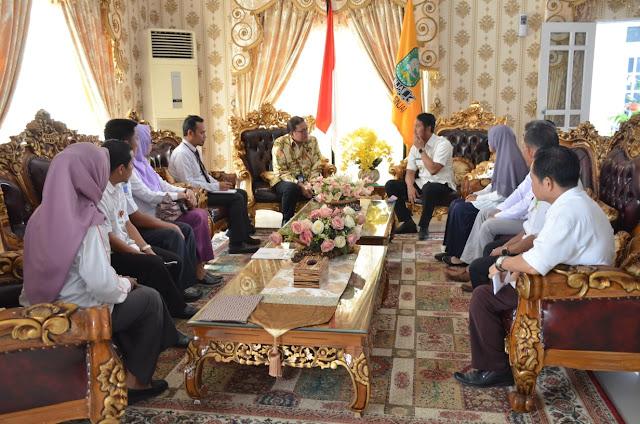 Bupati Sinjai Terima Kunjungan Kerja Bank Indonesia