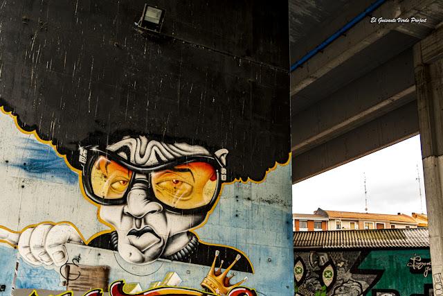 Mural 'Re Ro' Zorroza A8 - Bilbao, por El Guisante Verde Project