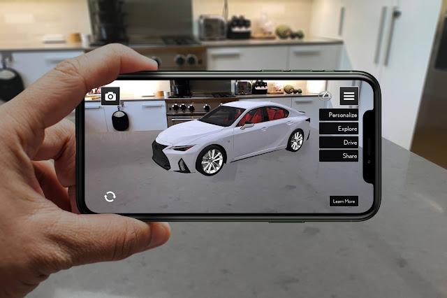 Lexus Reveals 'Lexus AR Play' App to Launch New 2021 IS
