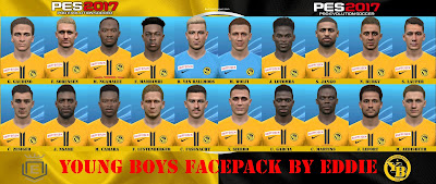 PES 2017 Young Boys Facepack by Eddie