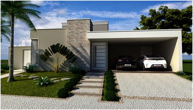 Construindo minha casa clean cal adas residenciais for Casas modernas futuristas