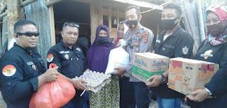 Peduli Kemanusiaan, KTM Salurkan Bantuan Korban Bencana Sulbar 5 Titik di Sinjai Satu diantaranya Korban Kebakaran