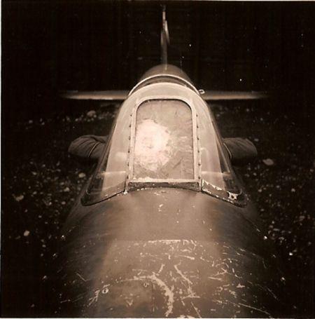 Hawker Hurricane smashed windscreen worldwartwo.filminspector.com