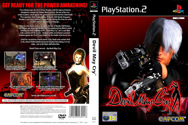 Capa Devil May Cry PS2
