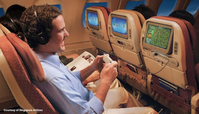 Singapore Airlines In Flight Entertainment