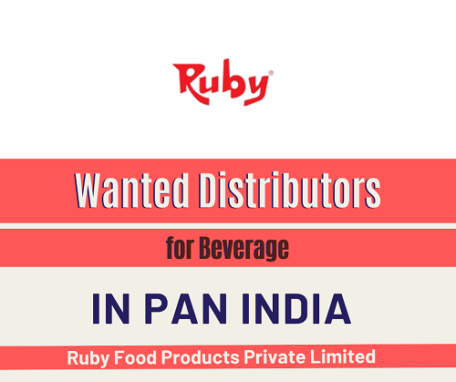 Wanted Distributors for Beverage in Pan India