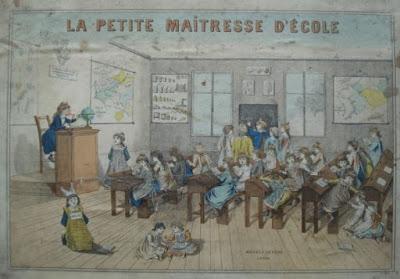 La Petite Maîtresse d'Ecole, « Jeux MAUCLAIR - DACIER (MD) » (collection musée)