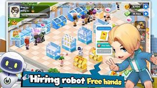 Jogo de simulação de supermercado para Android com tudo infinito