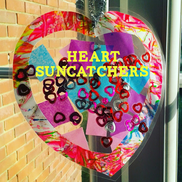 Valentines Suncatchers